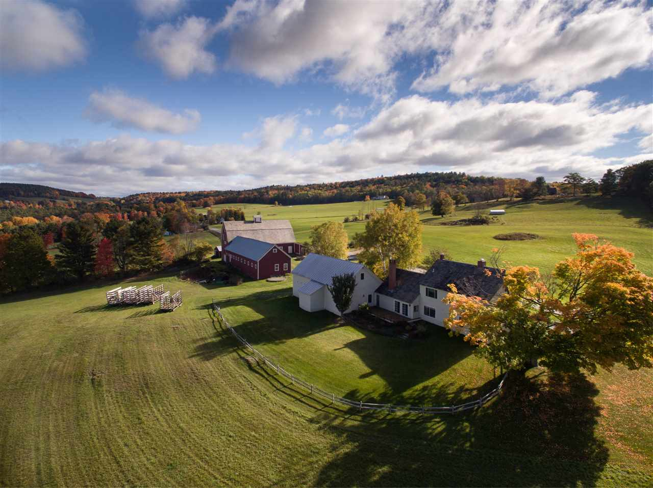 Hartford VT Horse Farm | Property  on Jericho Brook