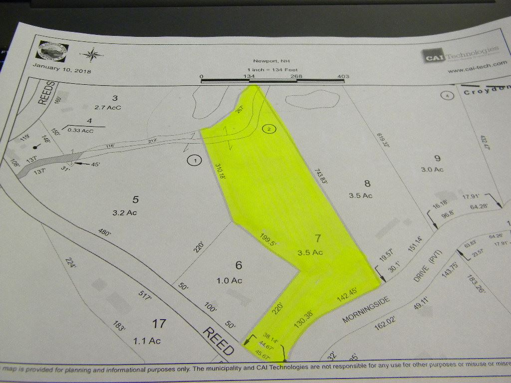 Newport NH 03773 Land for sale $List Price is $34,900