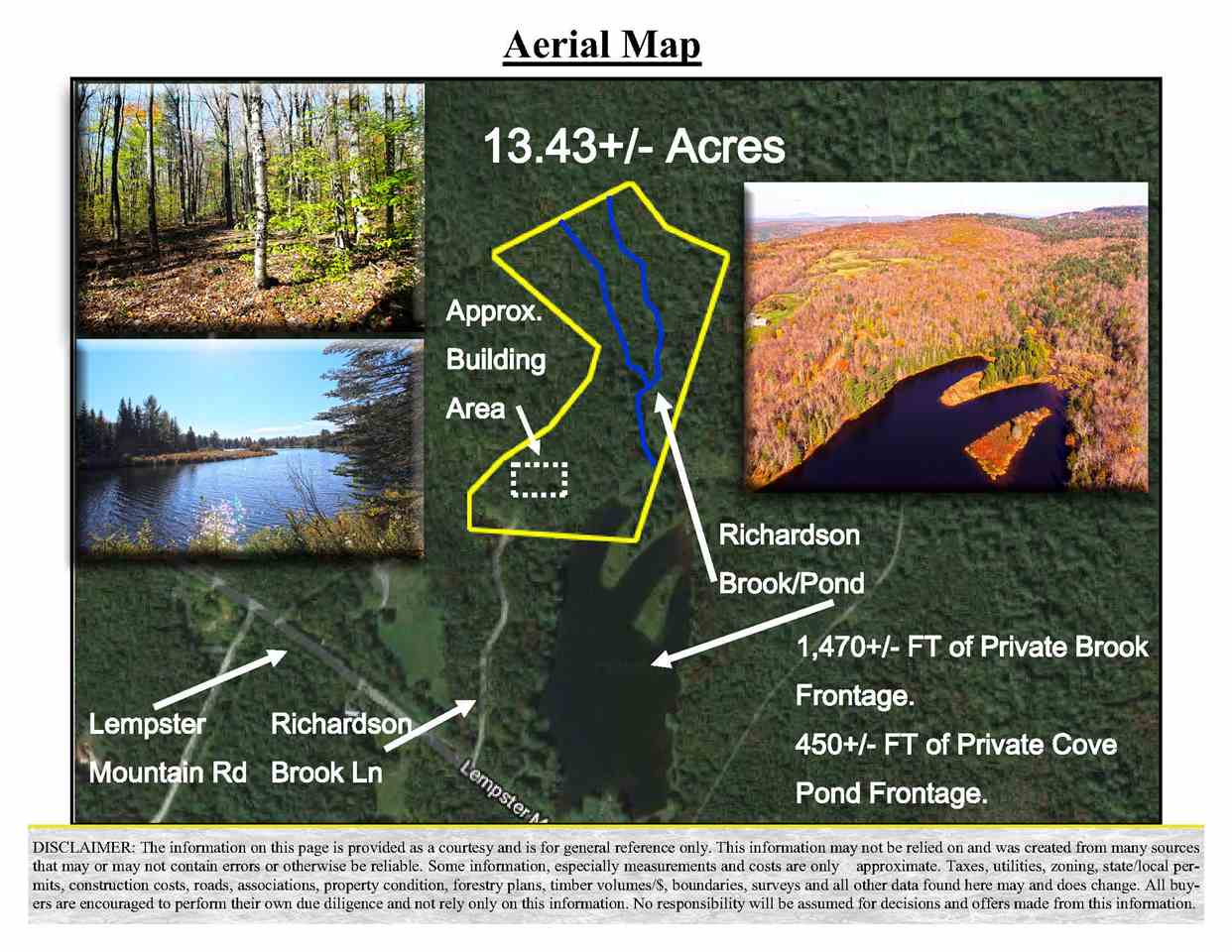 Lempster NH 03605Land for sale $List Price is $125,000