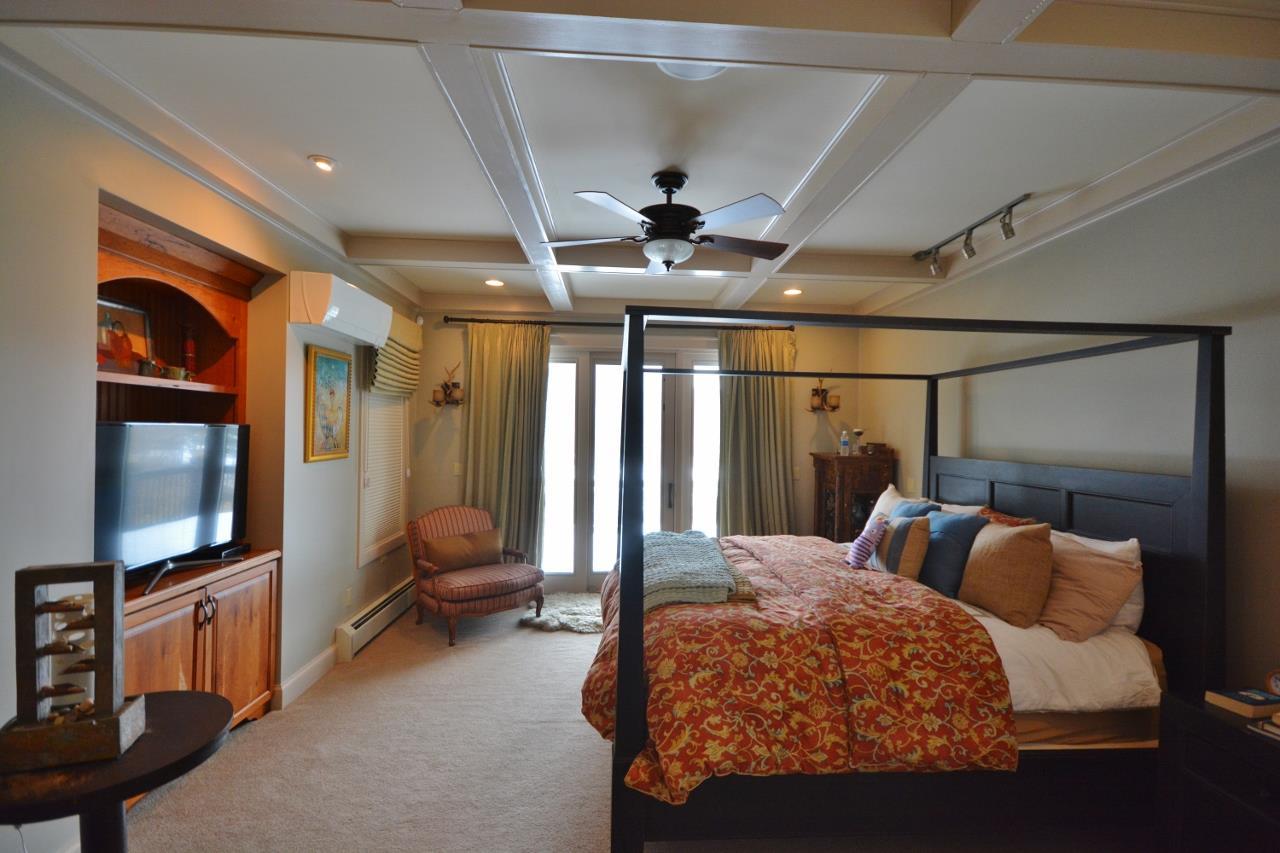 Master Bedroom & private deck beyond 11387755
