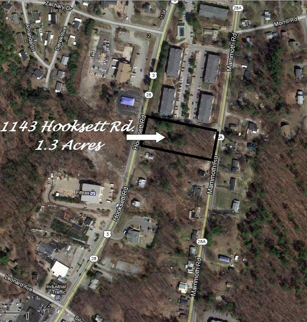Hooksett NH Land  for sale $List Price is $175,000
