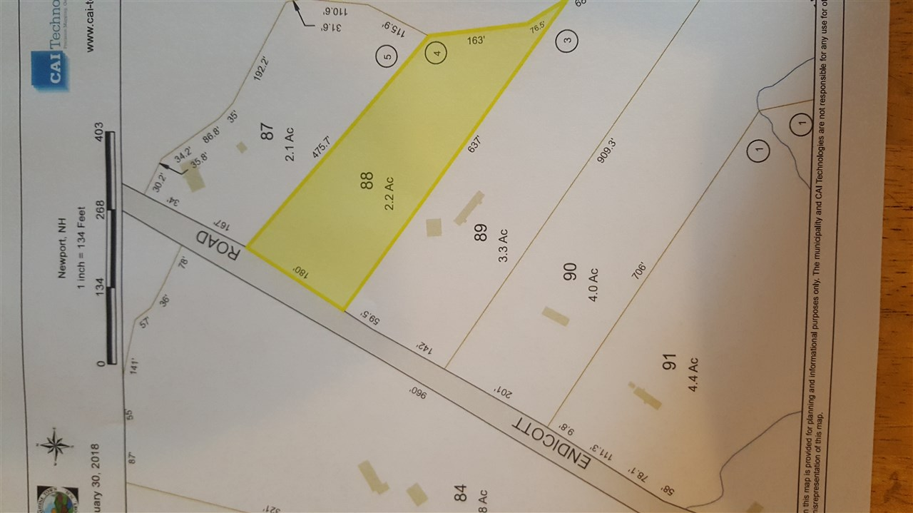 Newport NH 03773 Land for sale $List Price is $12,500