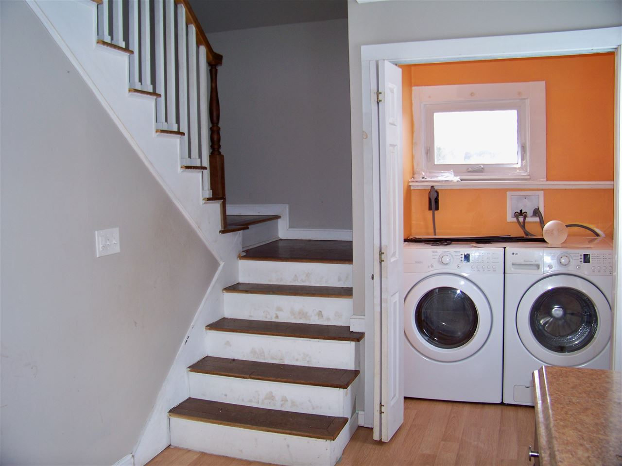 Stair and Laundry