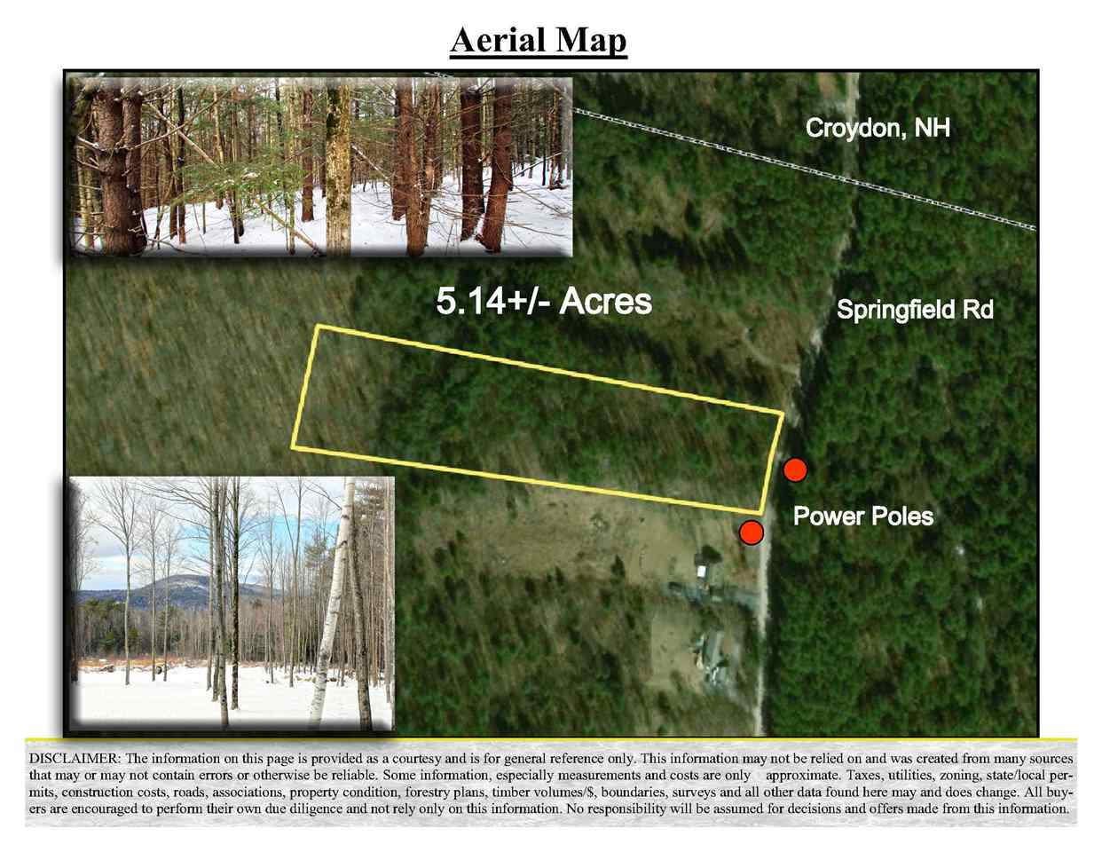 Newport NH 03773 Land for sale $List Price is $39,900