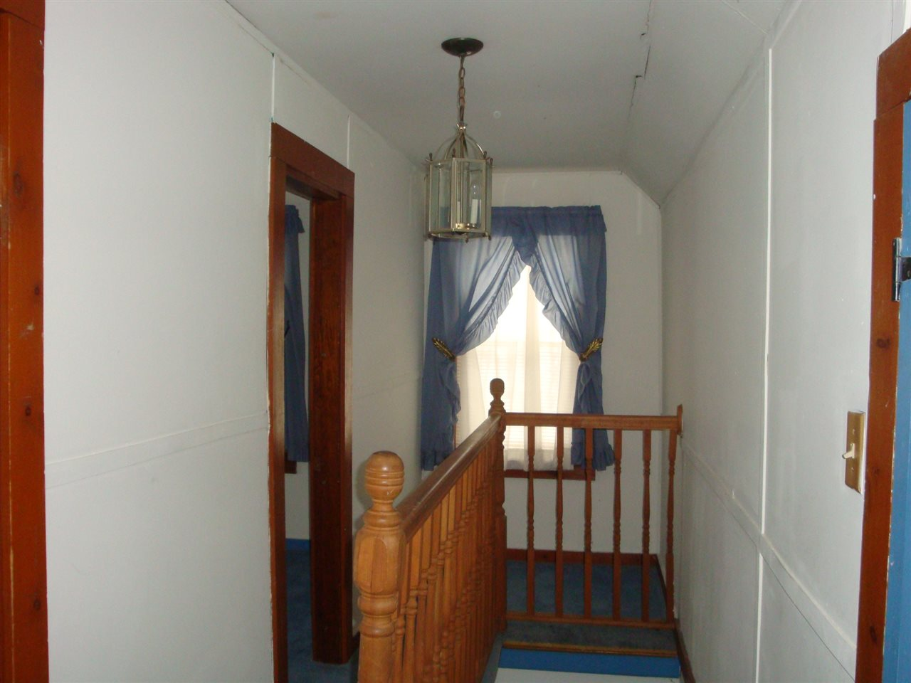 upstairs hall way