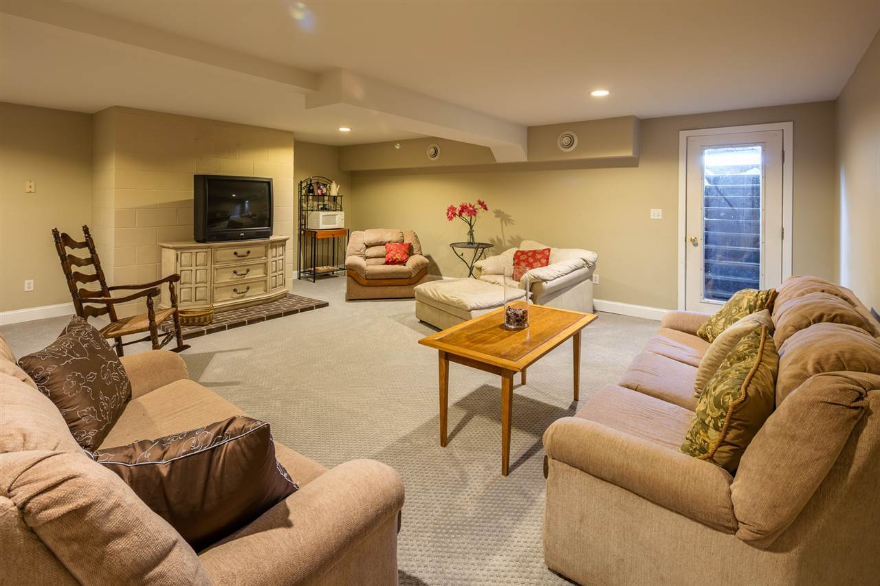 Family Room with Direct Access