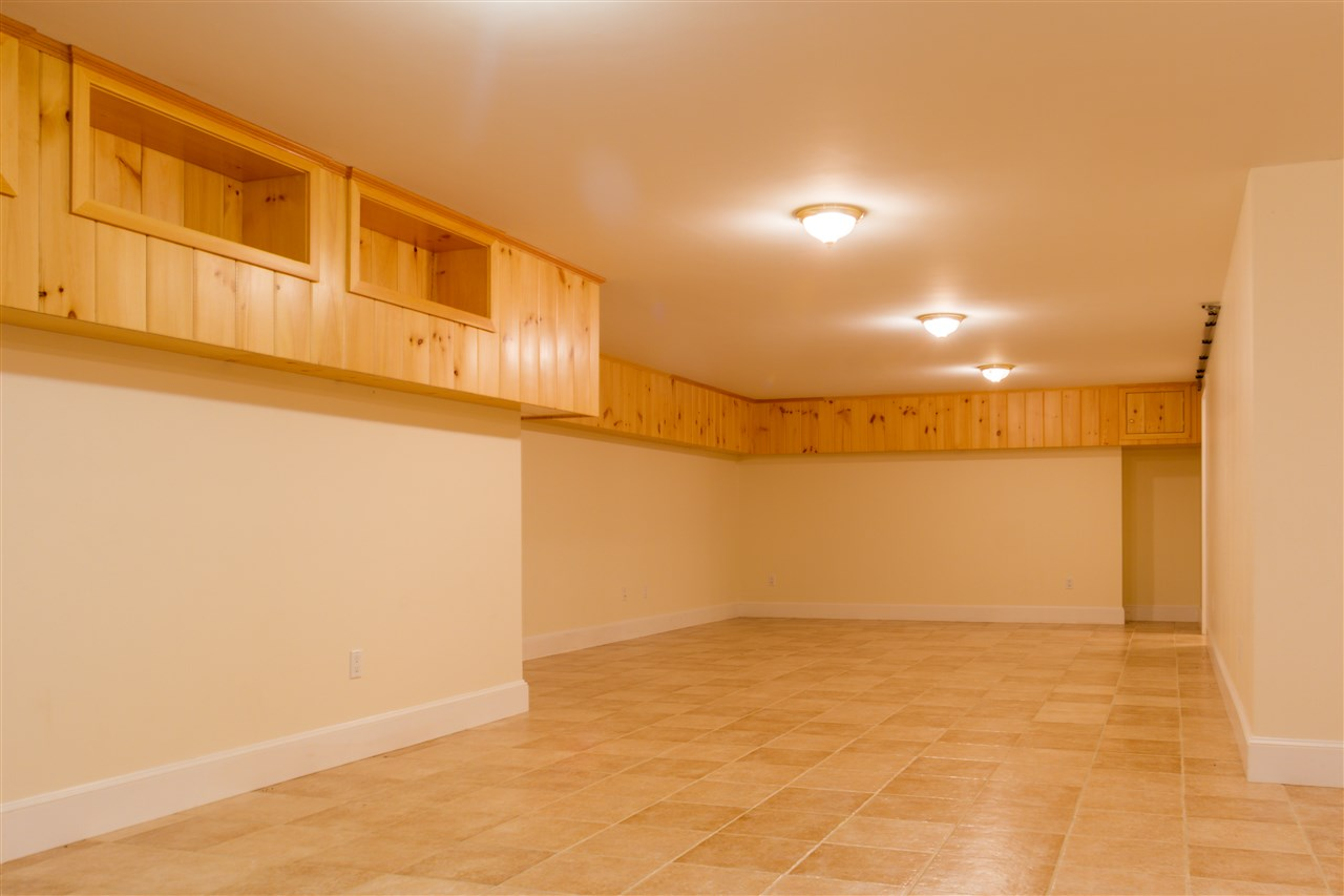 Large finished space in the basement