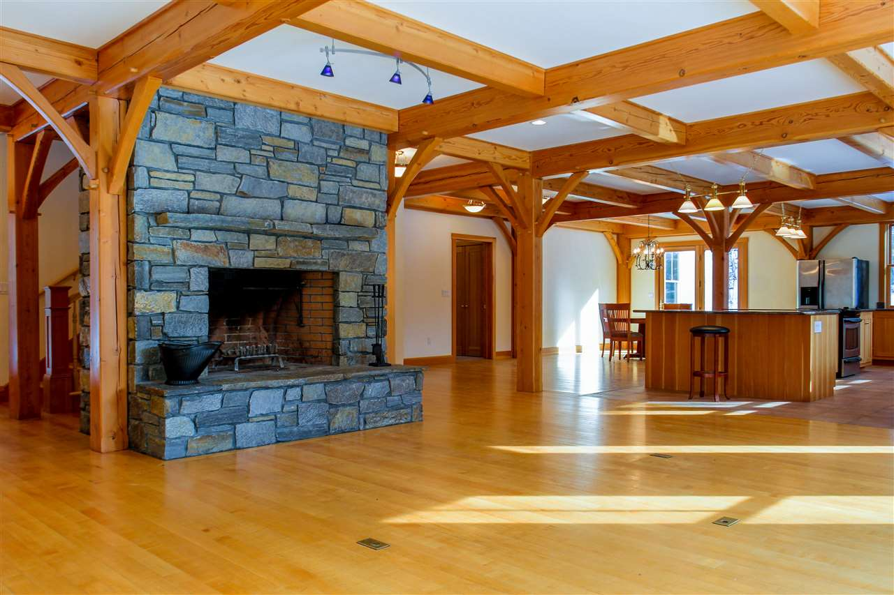 Spectacular post and beam home