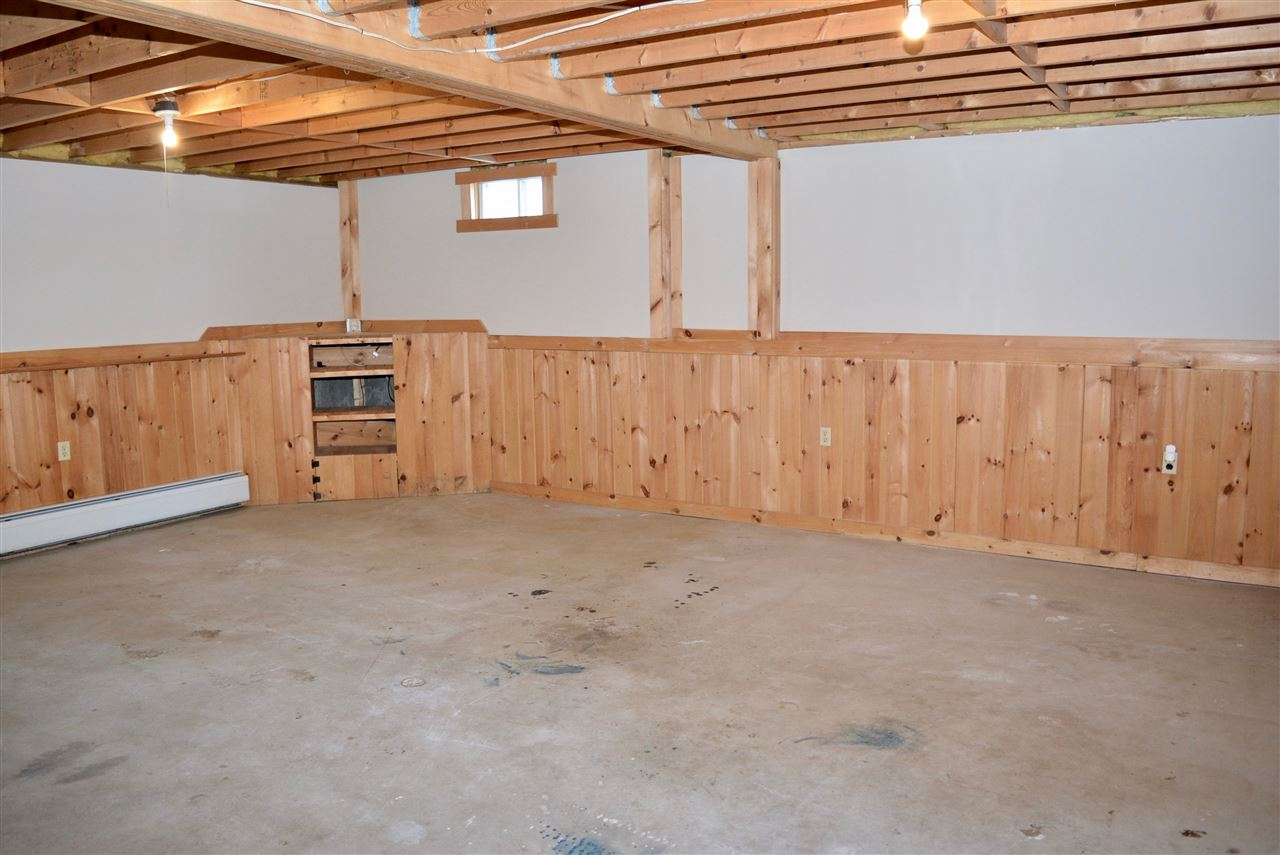 Large Unfinished Basement