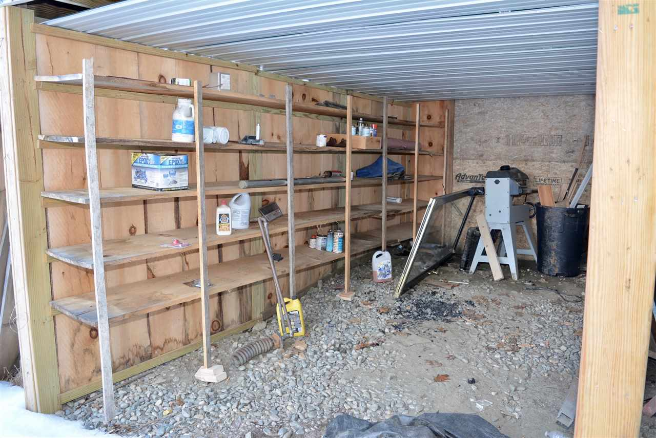 Exterior Covered Storage