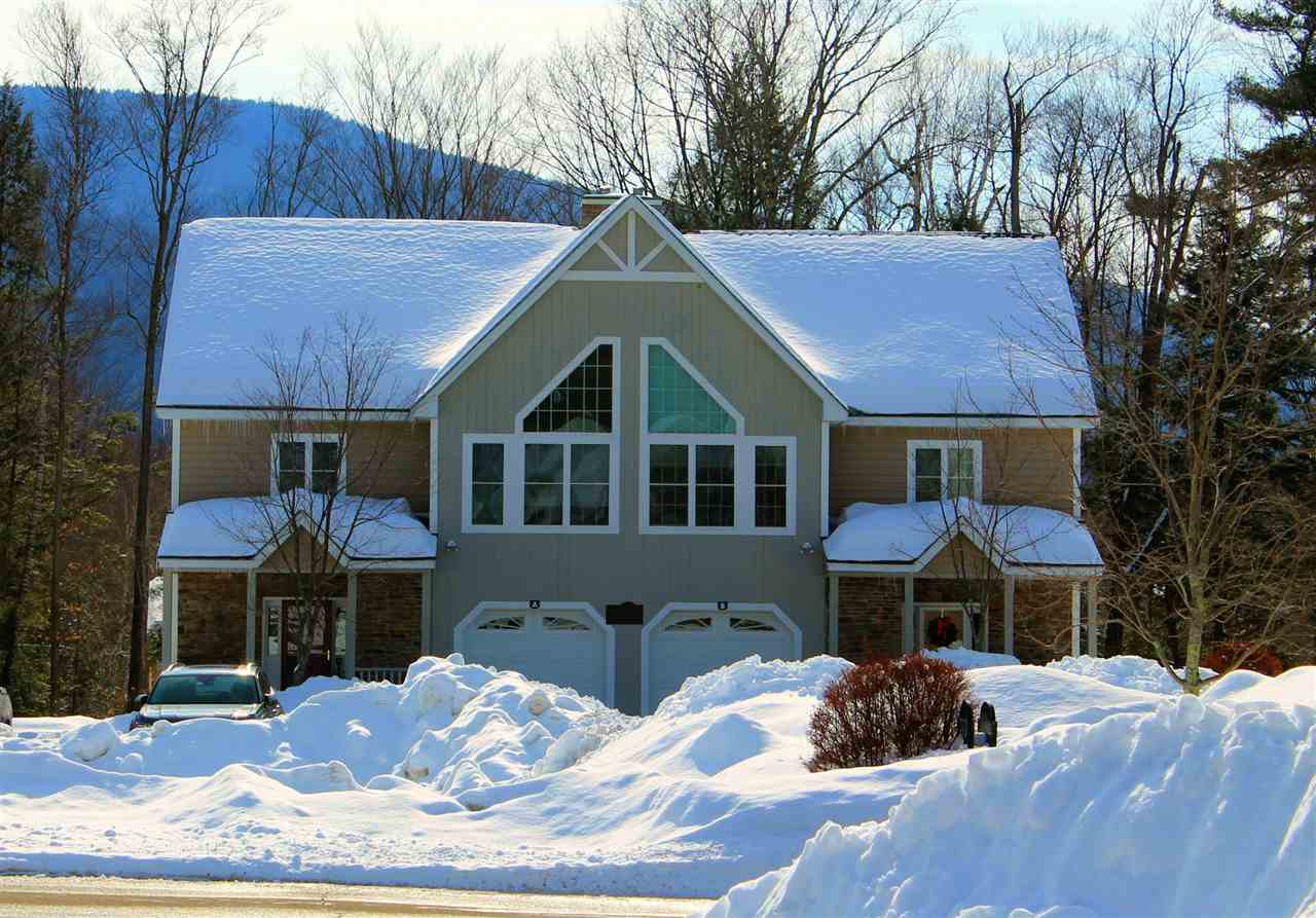 Lincoln NH Pond Forest Ridge Pond waterfront home for sale