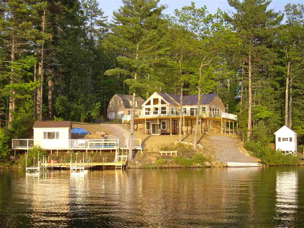 Lake Winnisquam waterfront home for sale in Belmont
