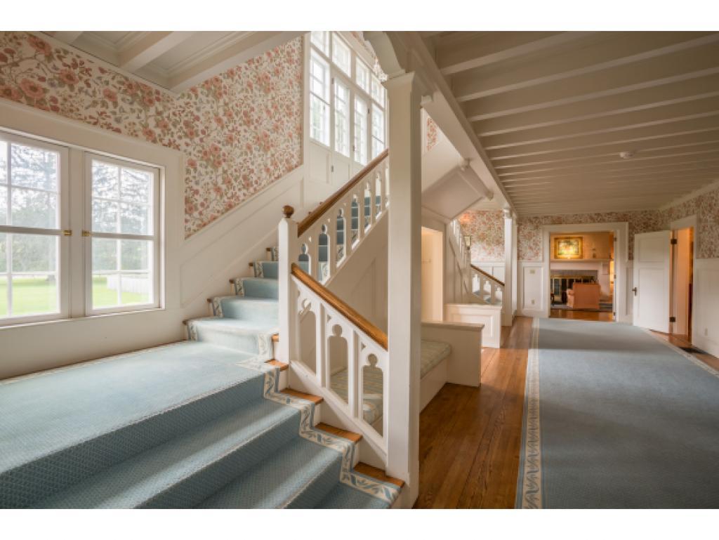 Stairway to Second Floor