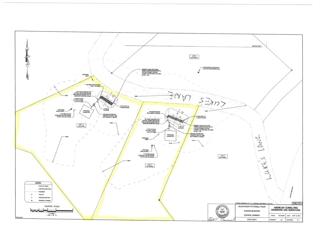 SHARON VTLand  for sale $$39,900   6 Acres    Price Per Acre $0
