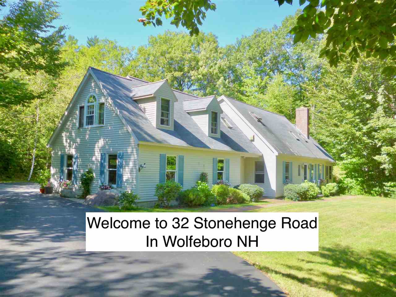 WOLFEBORO NH  Home for sale $596,000