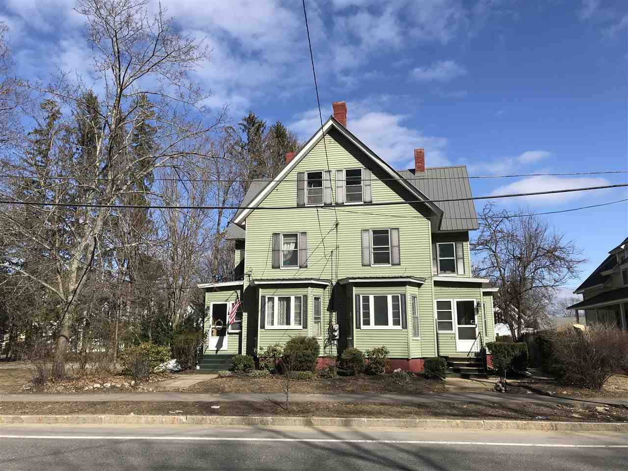 Concord NH Multi Family for sale $List Price is $309,000