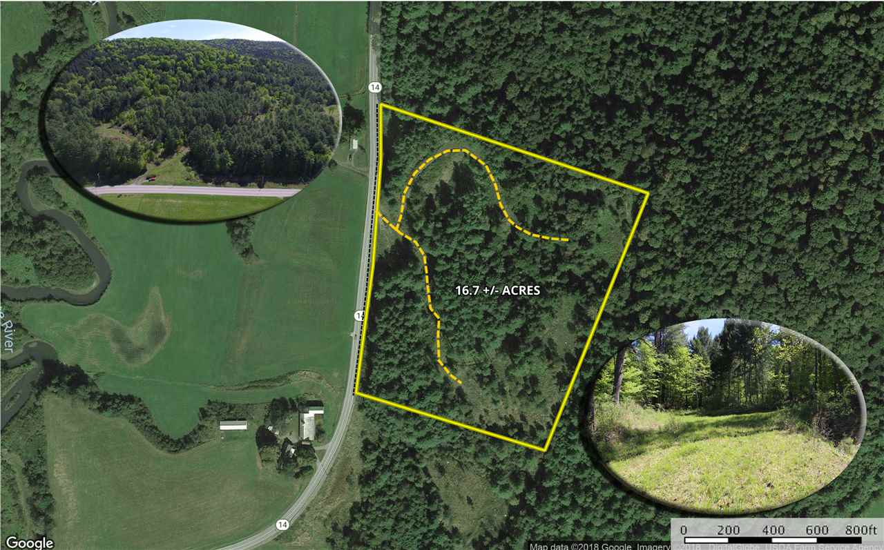 ROYALTON VT LAND  for sale $$71,500 | 16.7 Acres  | Price Per Acre $0