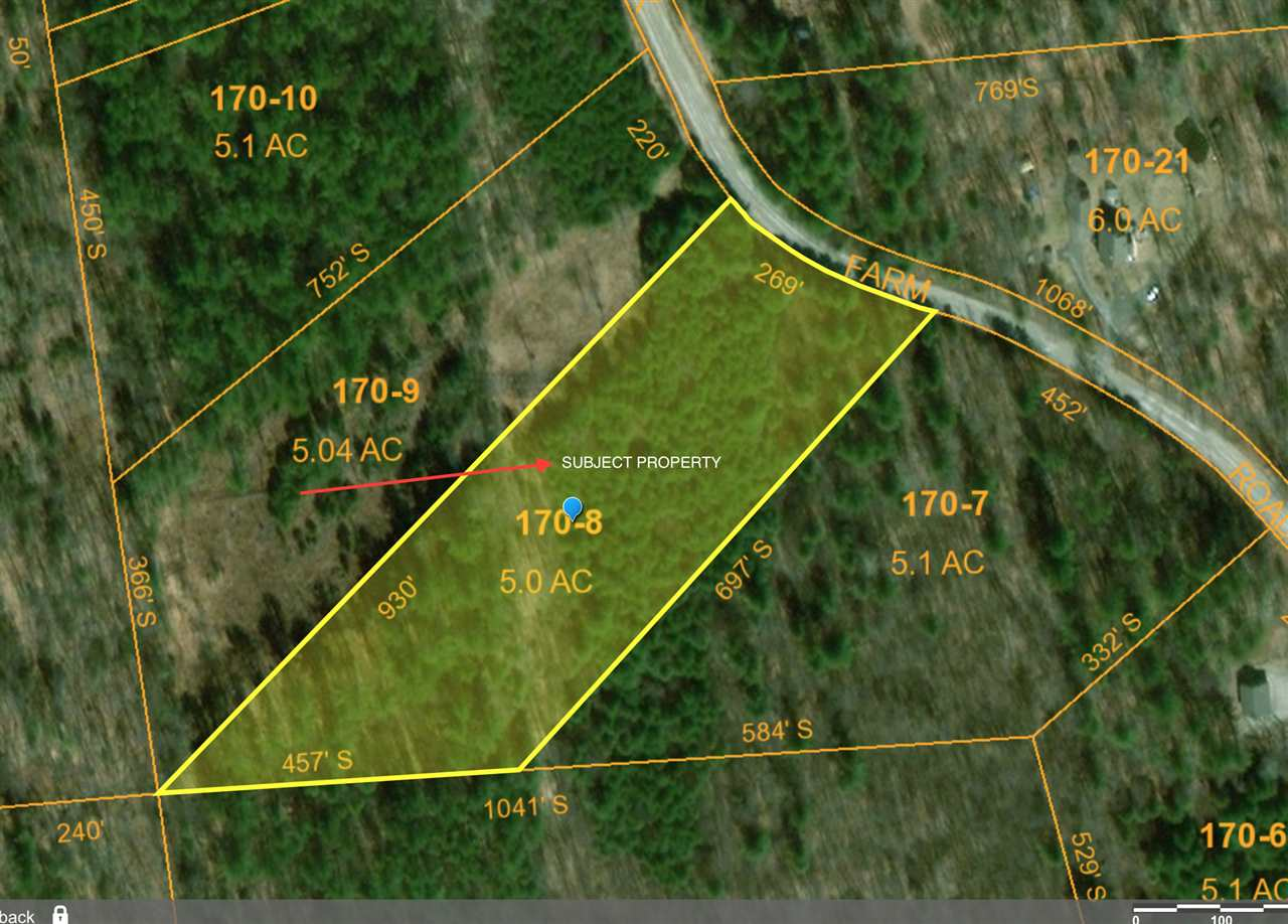 Unity NH 03603 Land for sale $List Price is $32,500