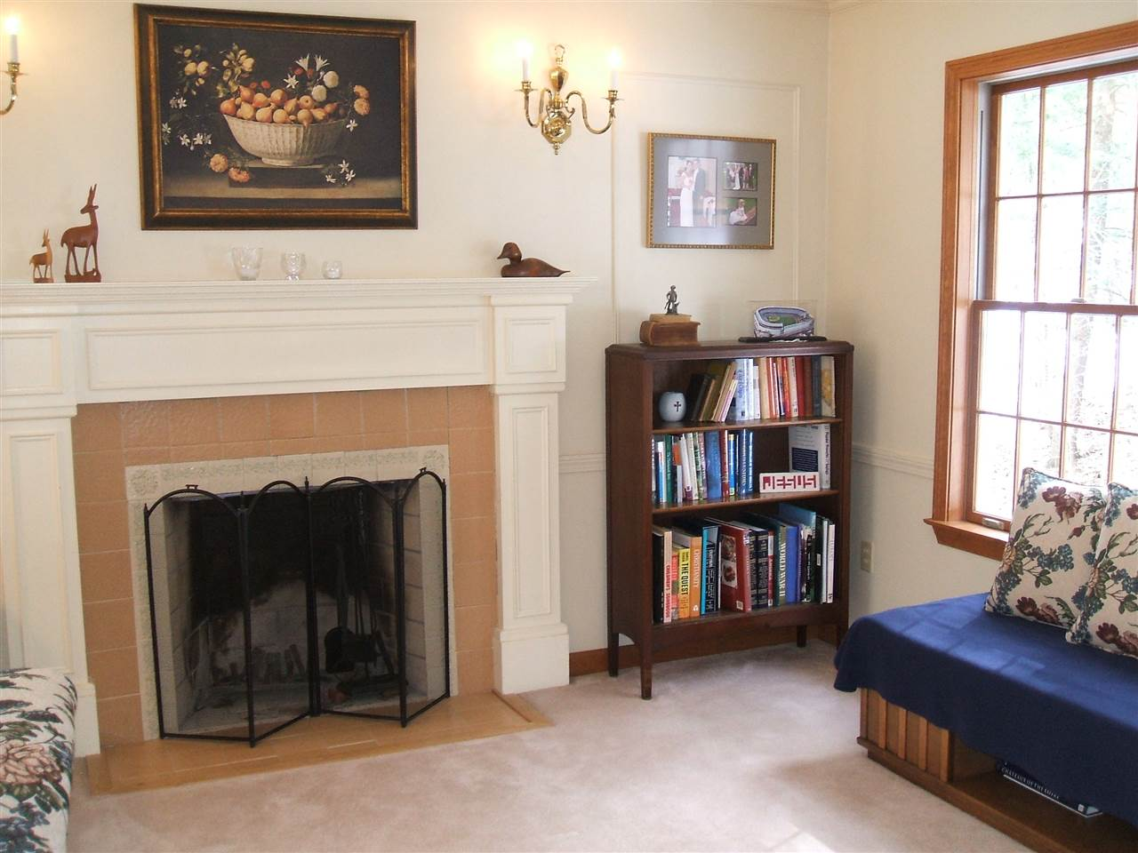 Living Room with Fireplace 11678860