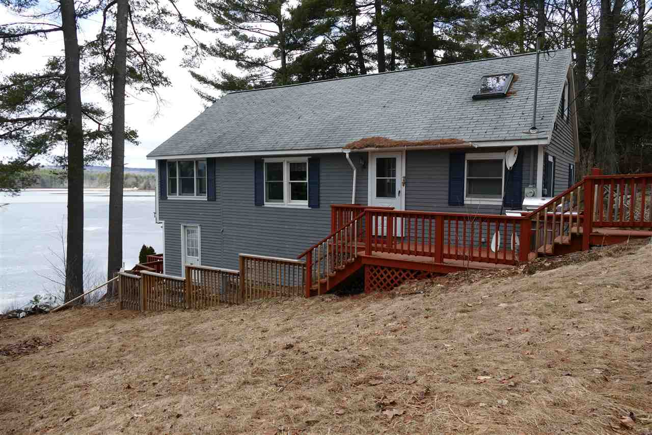 Lake Upper Suncook Lake waterfront home for sale in Barnstead