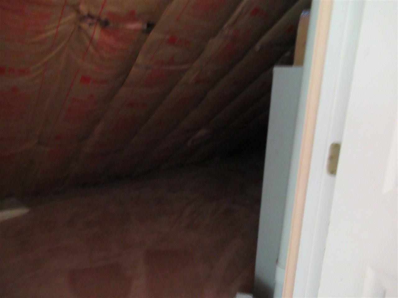 Spacious carpeted storage under eaves 12439588