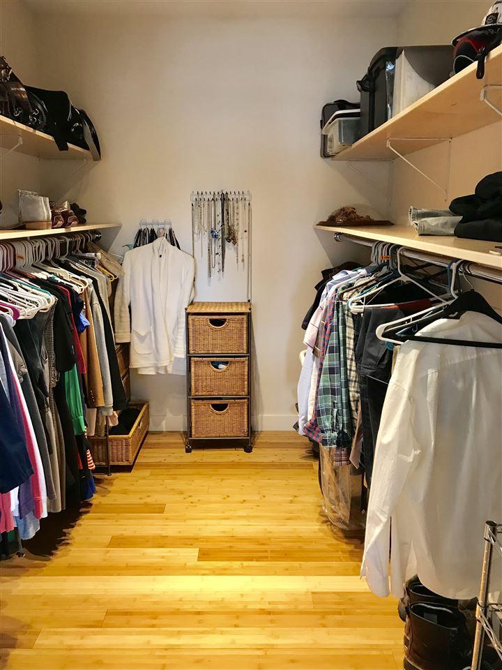 Large master bedroom closet