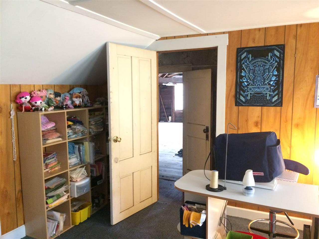 craft room to attic