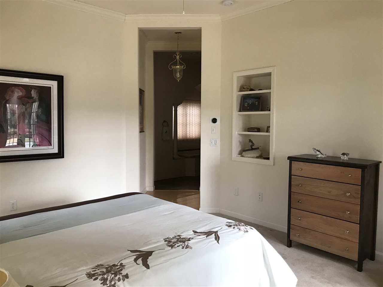 Master Bedroom towards entry & master bath 11707672