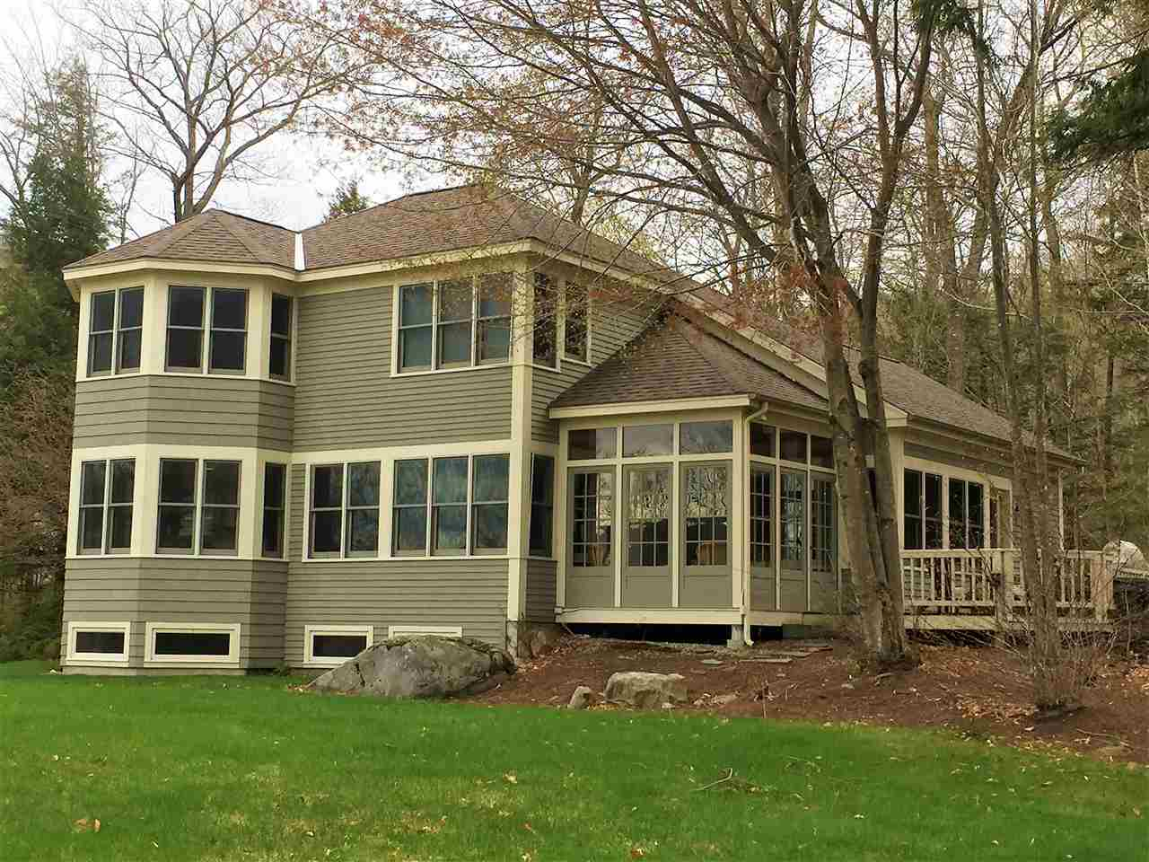 Hebron NH Lake Newfound waterfront home for sale