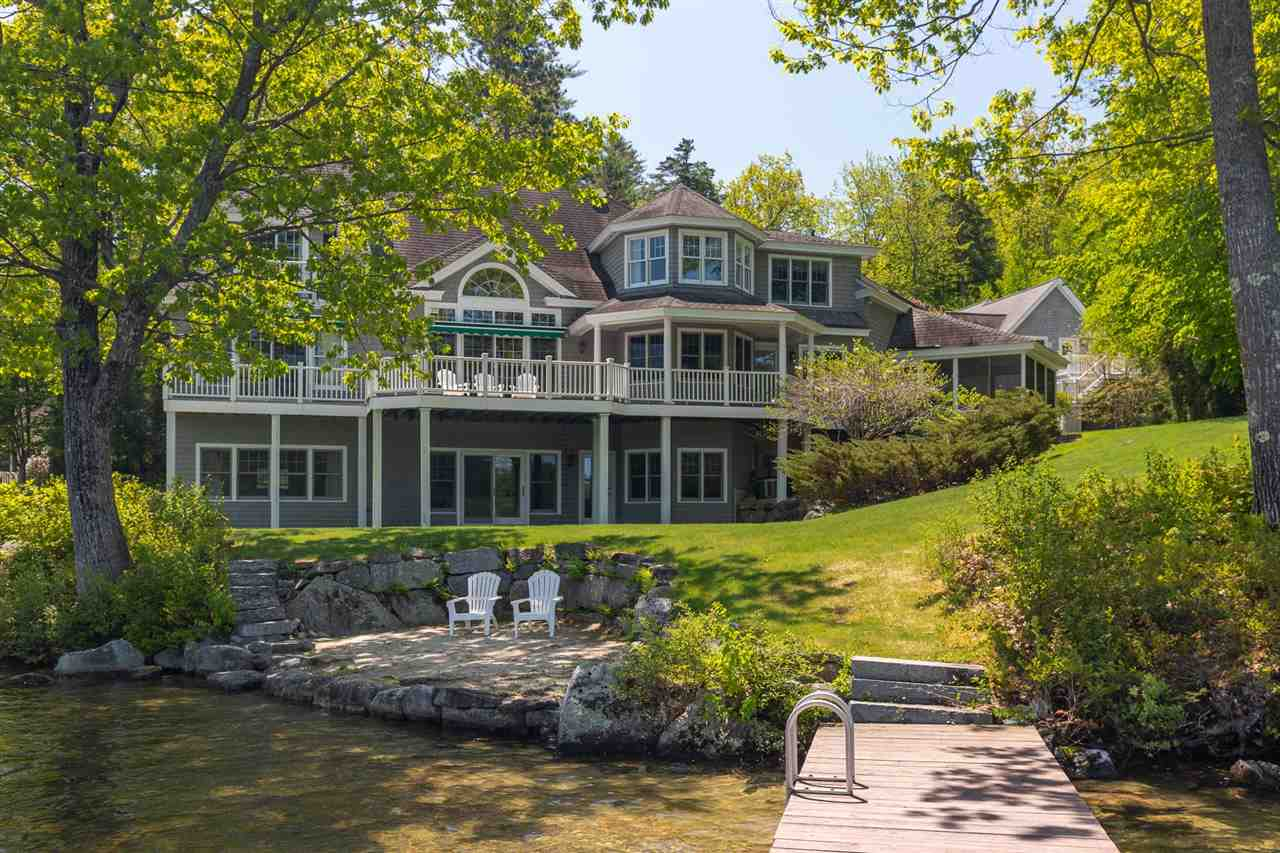 Belmont Kitchen Island Wolfeboro New Hampshire Waterfront Properties Lake