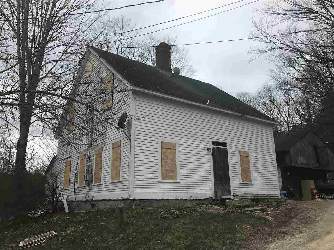 SUTTON NHHome for sale $$60,000   $30 per sq.ft.