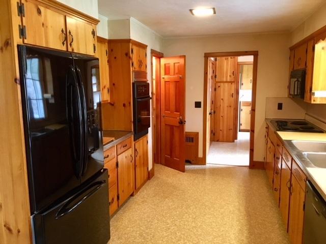 Knotty Pine Kitchen Cupboards