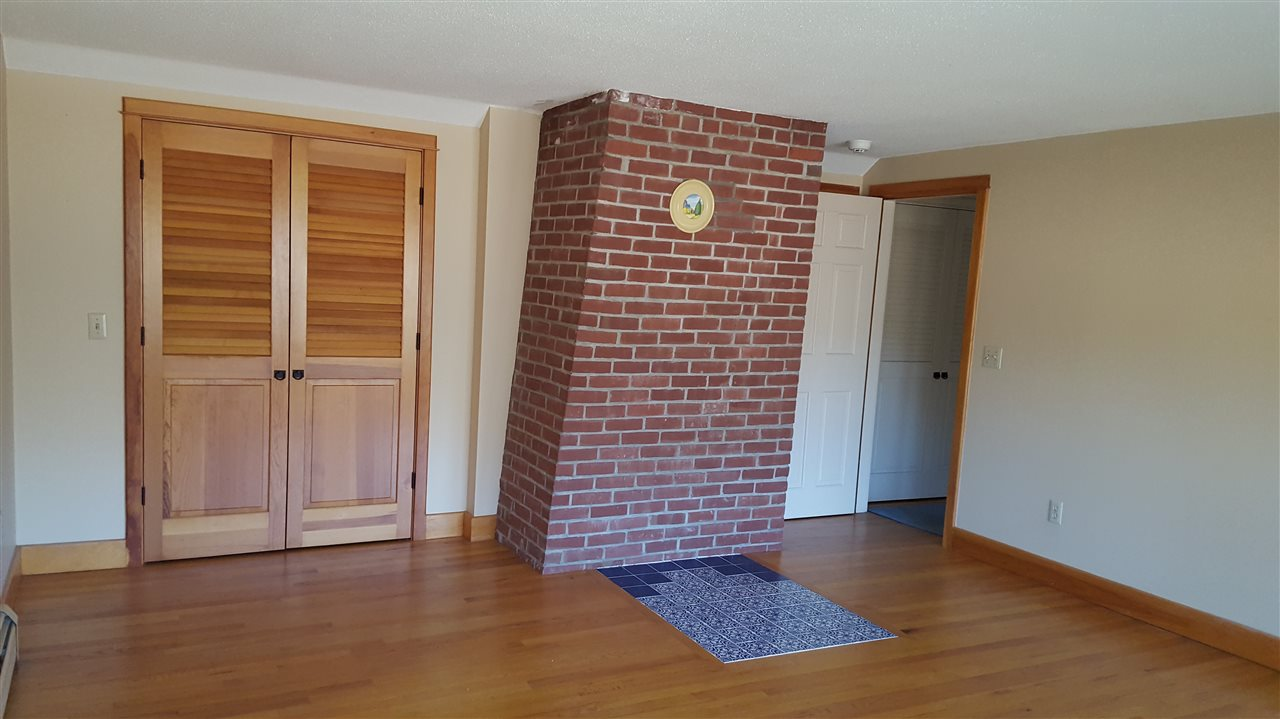 Hearth for wood stove upper bedroom
