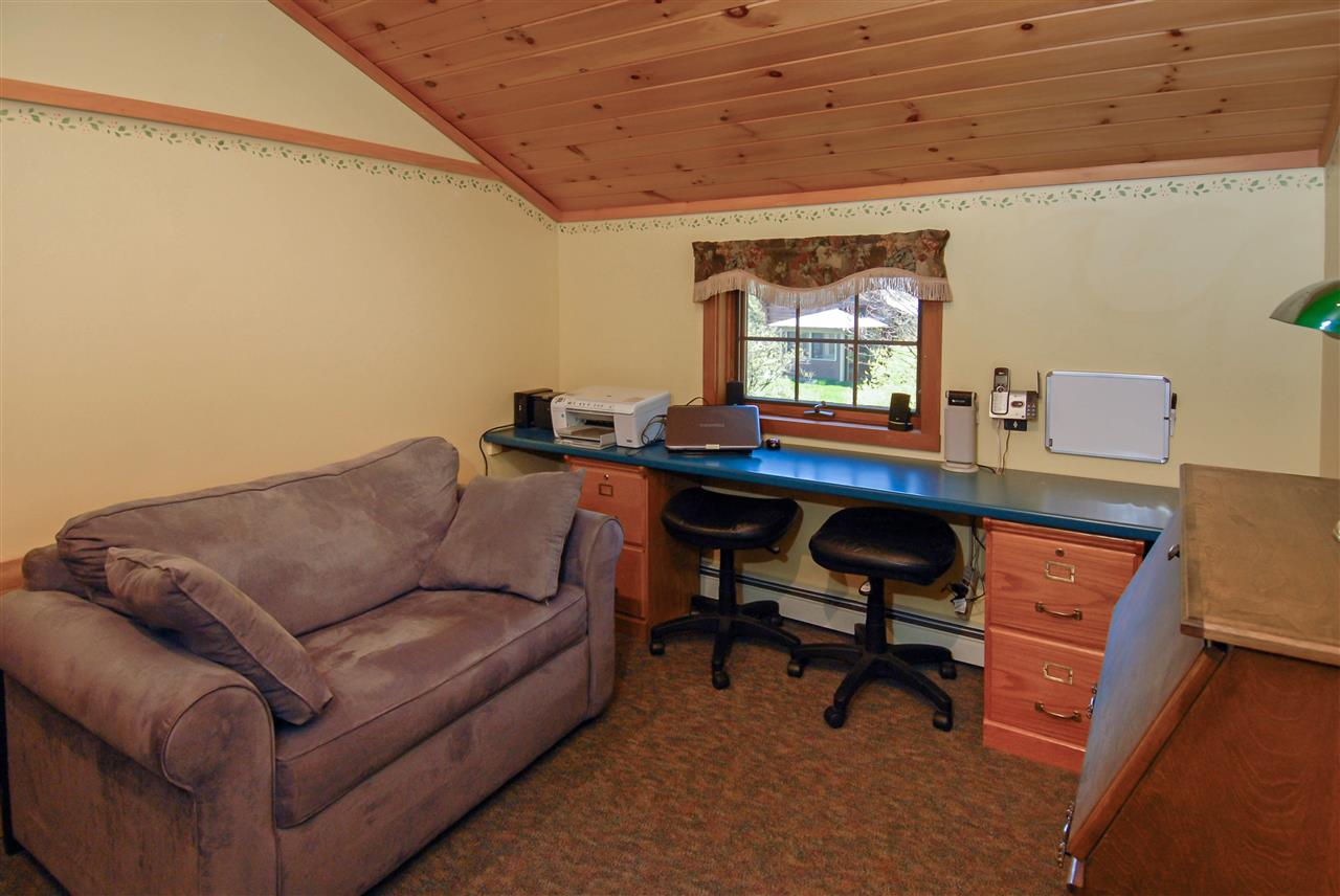 Office with walk in close