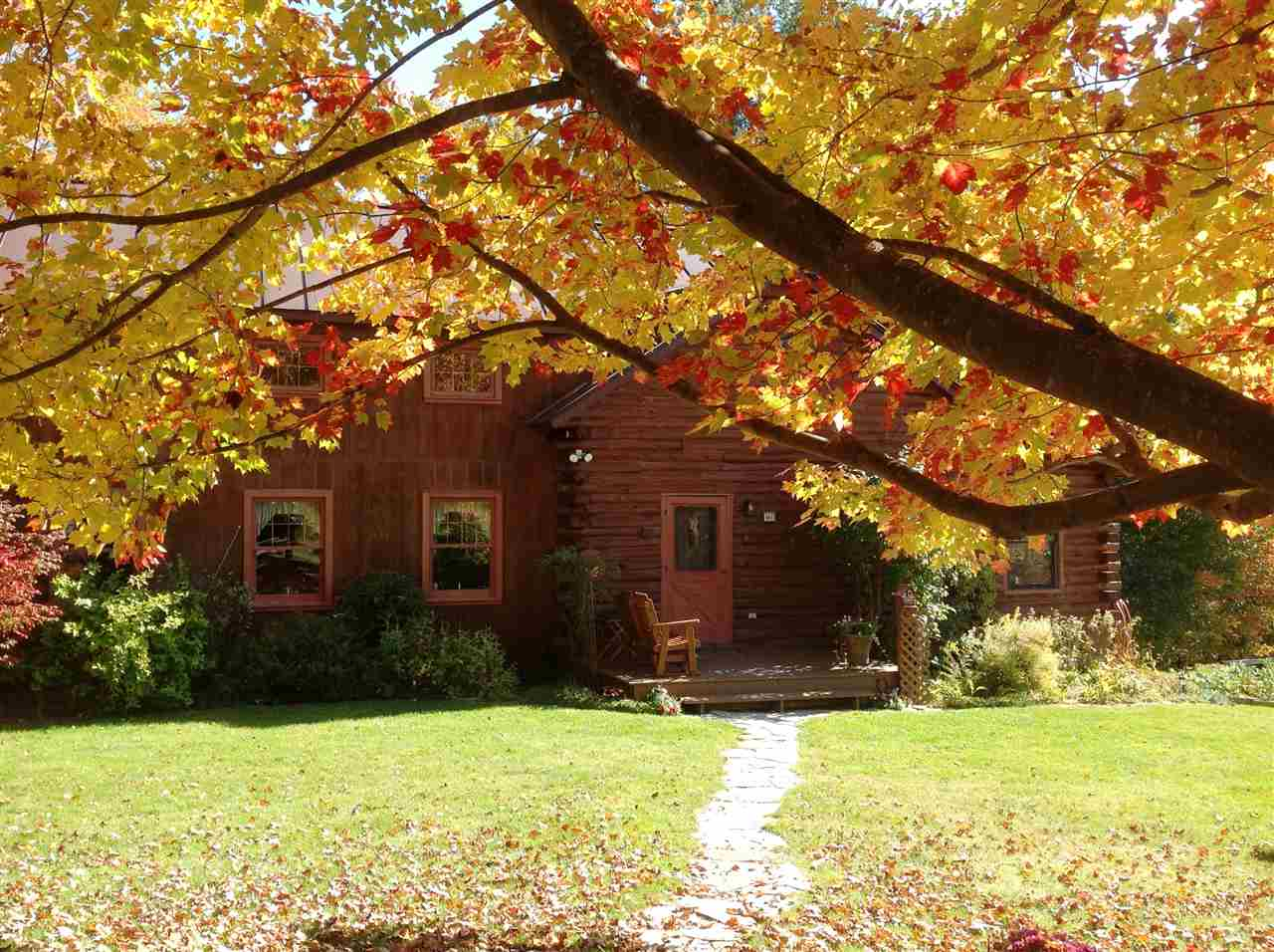 Vermont in the Fall nothing more beautiful