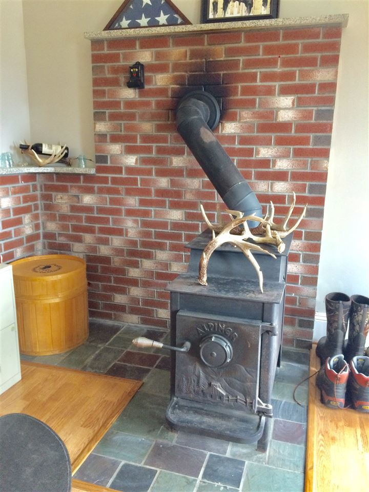 Woodstove in the den 11869689