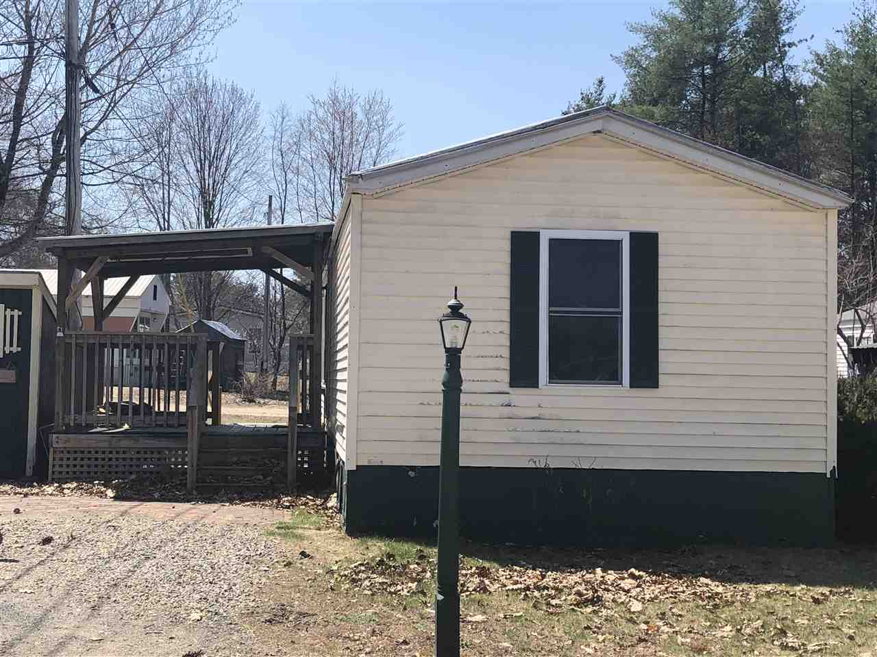 Ashland NH Mobile-Manufacured Home for sale $List Price is $25,000