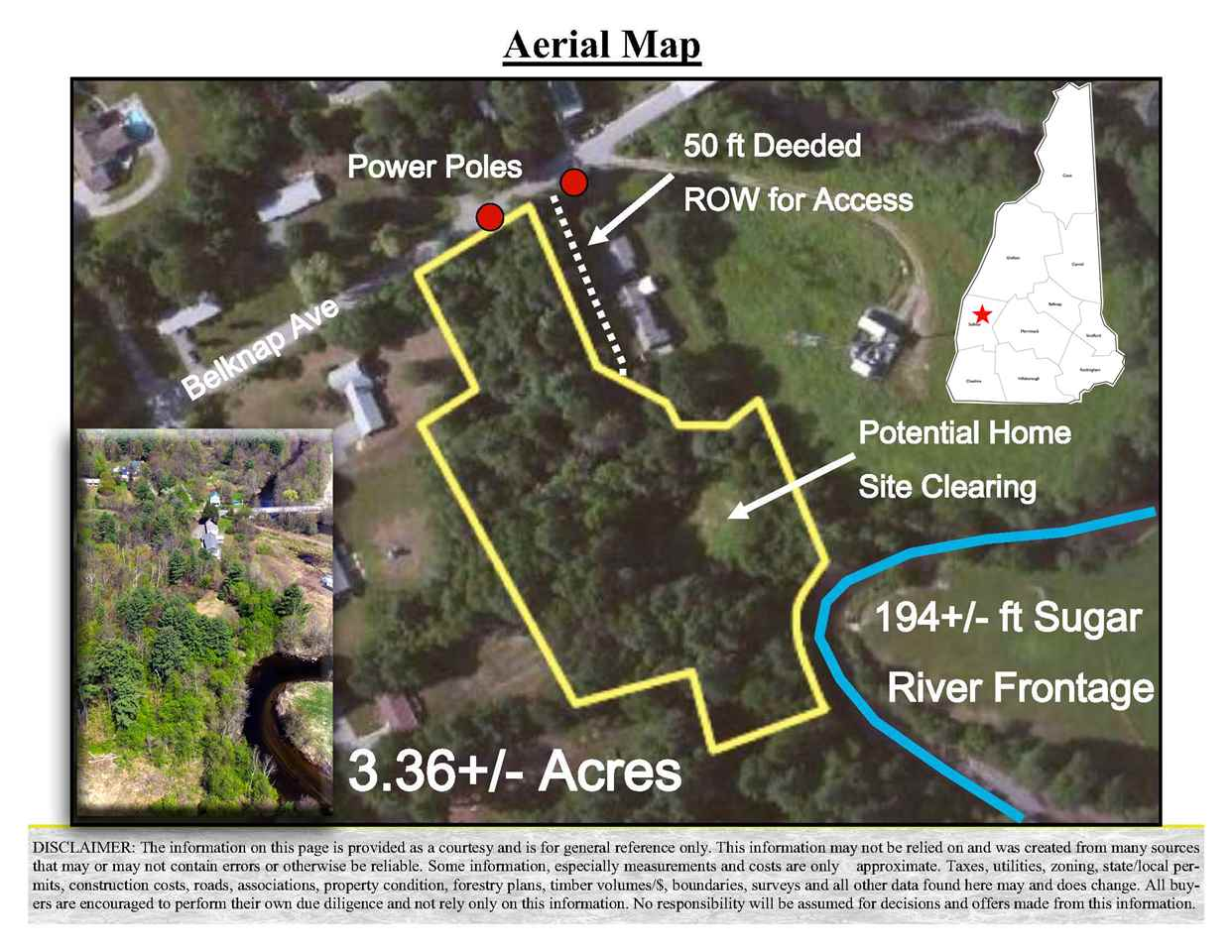 NEWPORT NH LAND  for sale $$89,000 | 3.36 Acres  | Price Per Acre $0