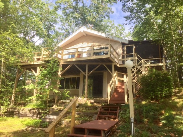 Pond Pine River Pond waterfront home for sale in Wakefield
