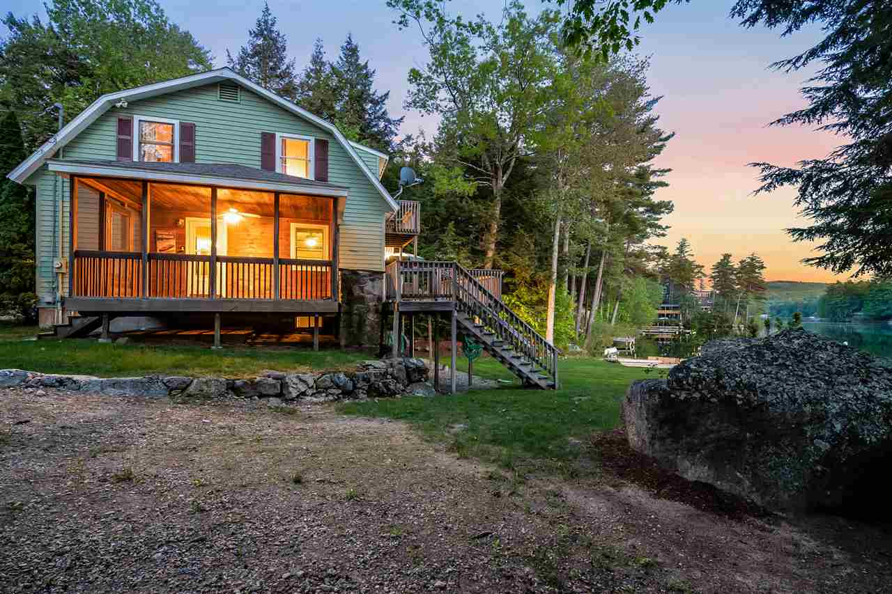 Lake Winnisquam waterfront home for sale in Meredith