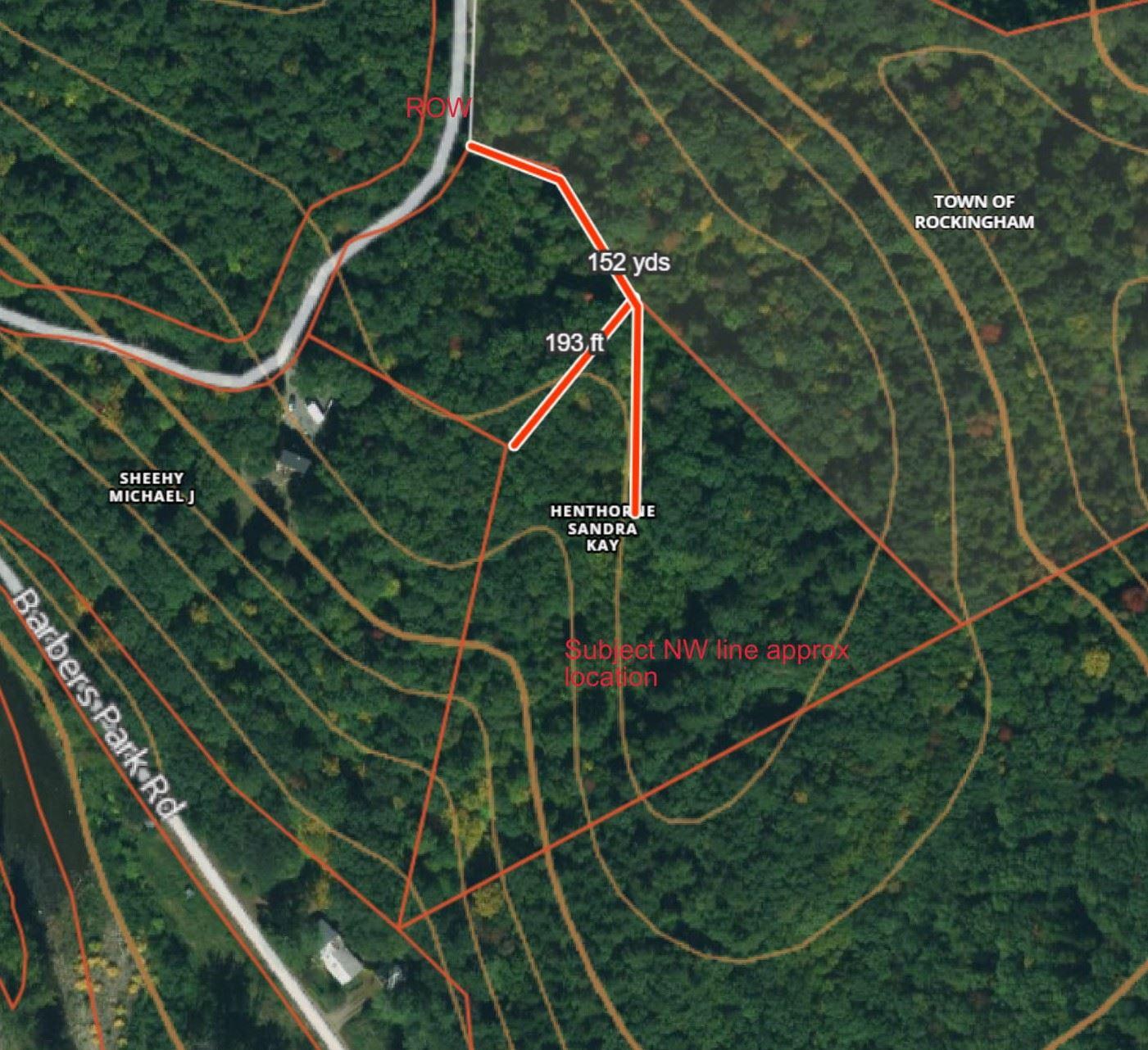 ROCKINGHAM VTLAND  for sale $$33,000 | 3.91 Acres  | Price Per Acre $0