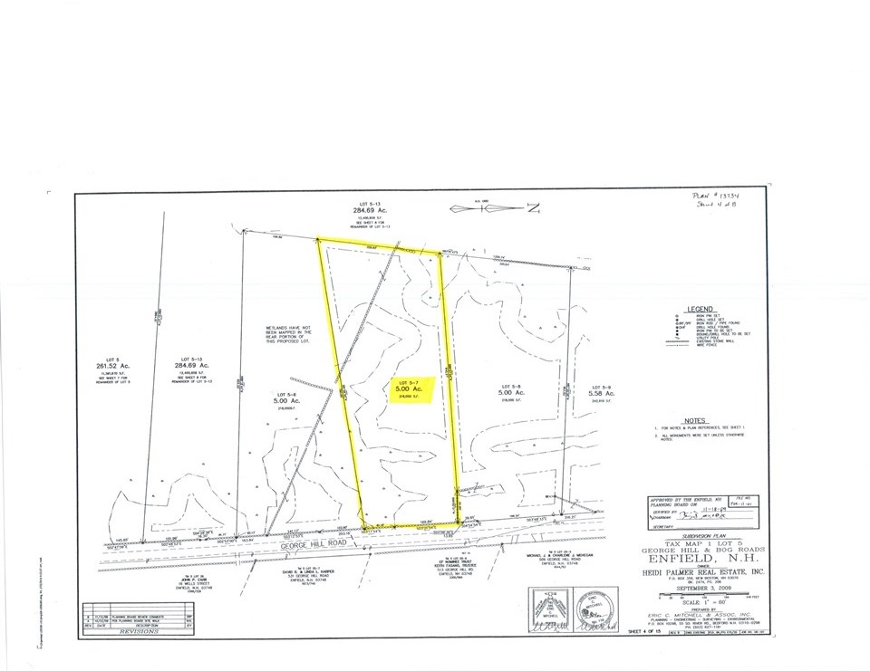 ENFIELD NHLAND  for sale $$79,900 | 5 Acres  | Price Per Acre $0  | Total Lots 2