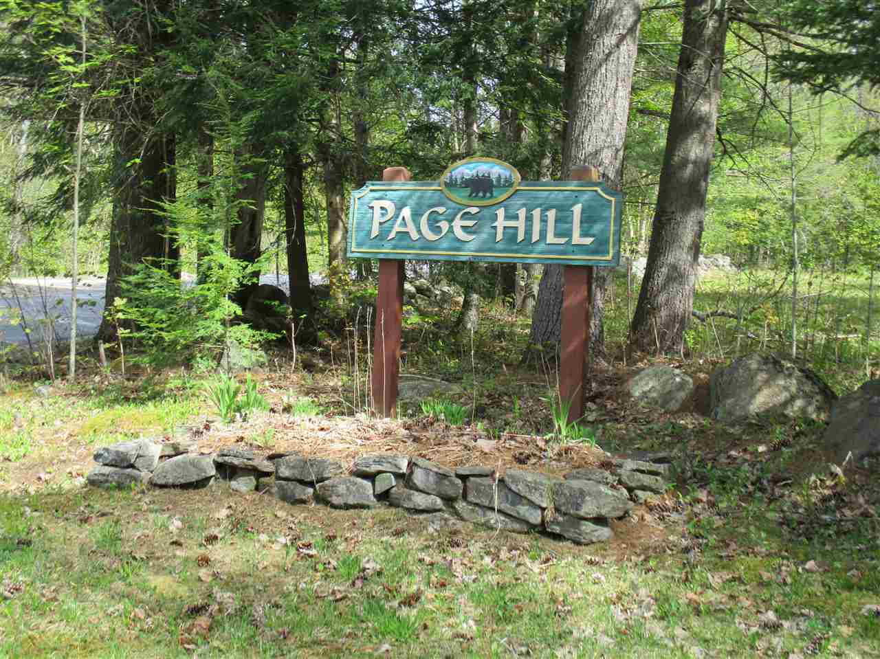 Page Hill invites you to become part of this dynamic community by claiming this 5 plus acre building site for your new home.  Builders are available to help you design and build your new dwelling using all the modern energy-saving techniques including solar panels, the latest approach to insulating and installing geo-thermal wells.  At Page Hill, there's no one blowing a whistle to tell you when to jump into the pool and that's a good thing because there are no pools or tennis courts or clubhouses pushing association fees into the stratosphere.  Page Hill dues are only $100 per year -- that's per year, not per month!!  Call us eight days a week for a personal introduction to this property.