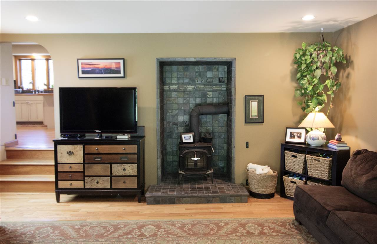 Cozy Wood Stove in Living Room 12044122