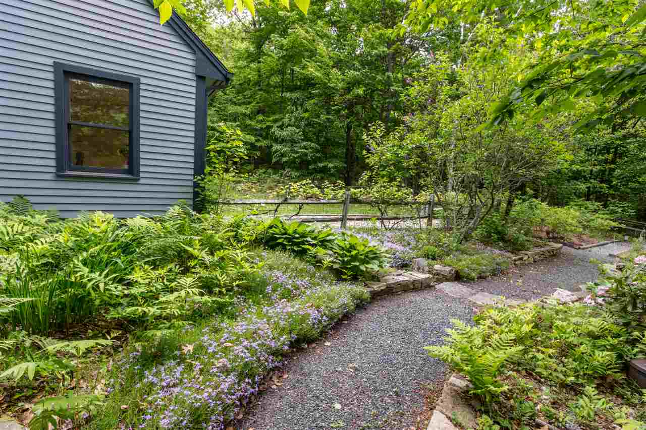Winding path through the gardens