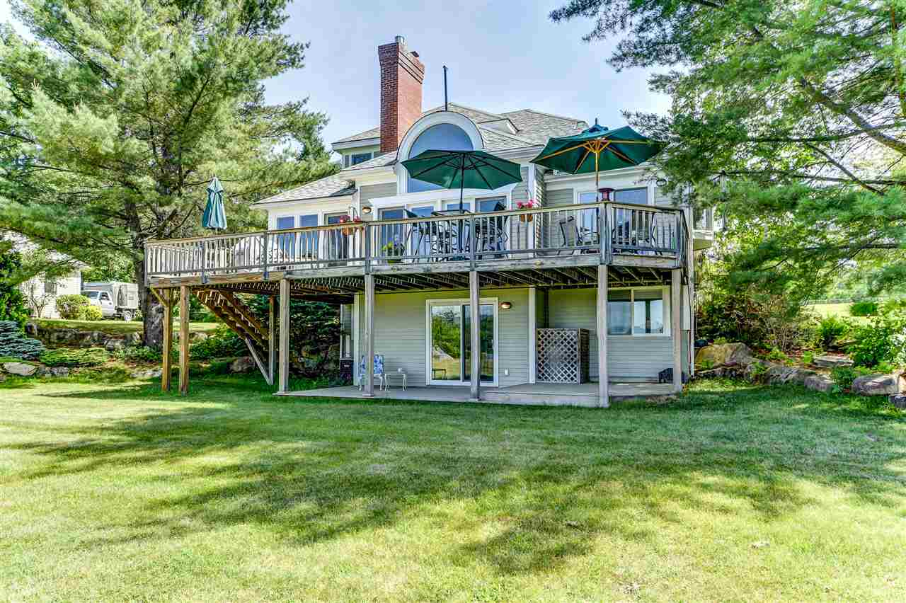 Bridgewater NH Lake Newfound waterfront home for sale