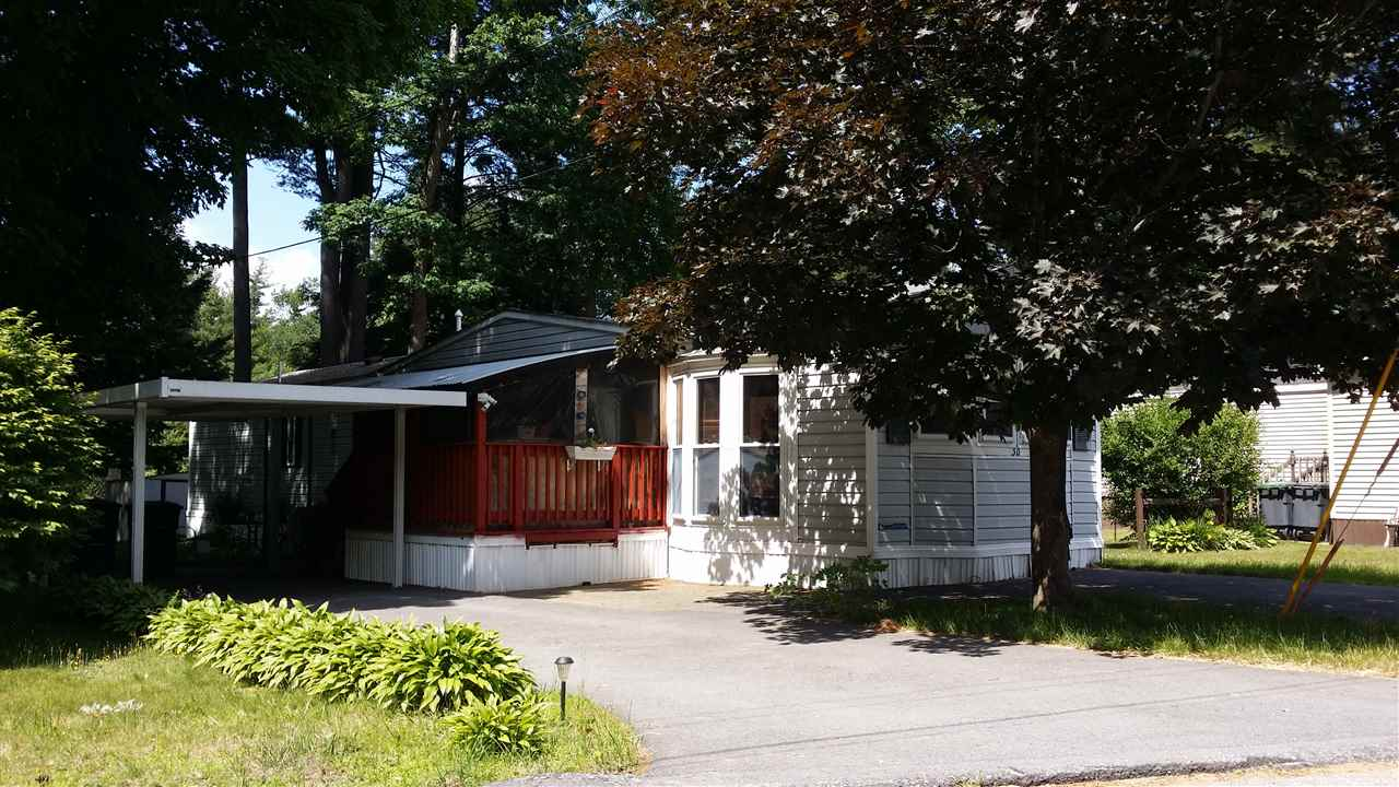 Hooksett NH Mobile-Manufacured Home for sale $List Price is $68,800