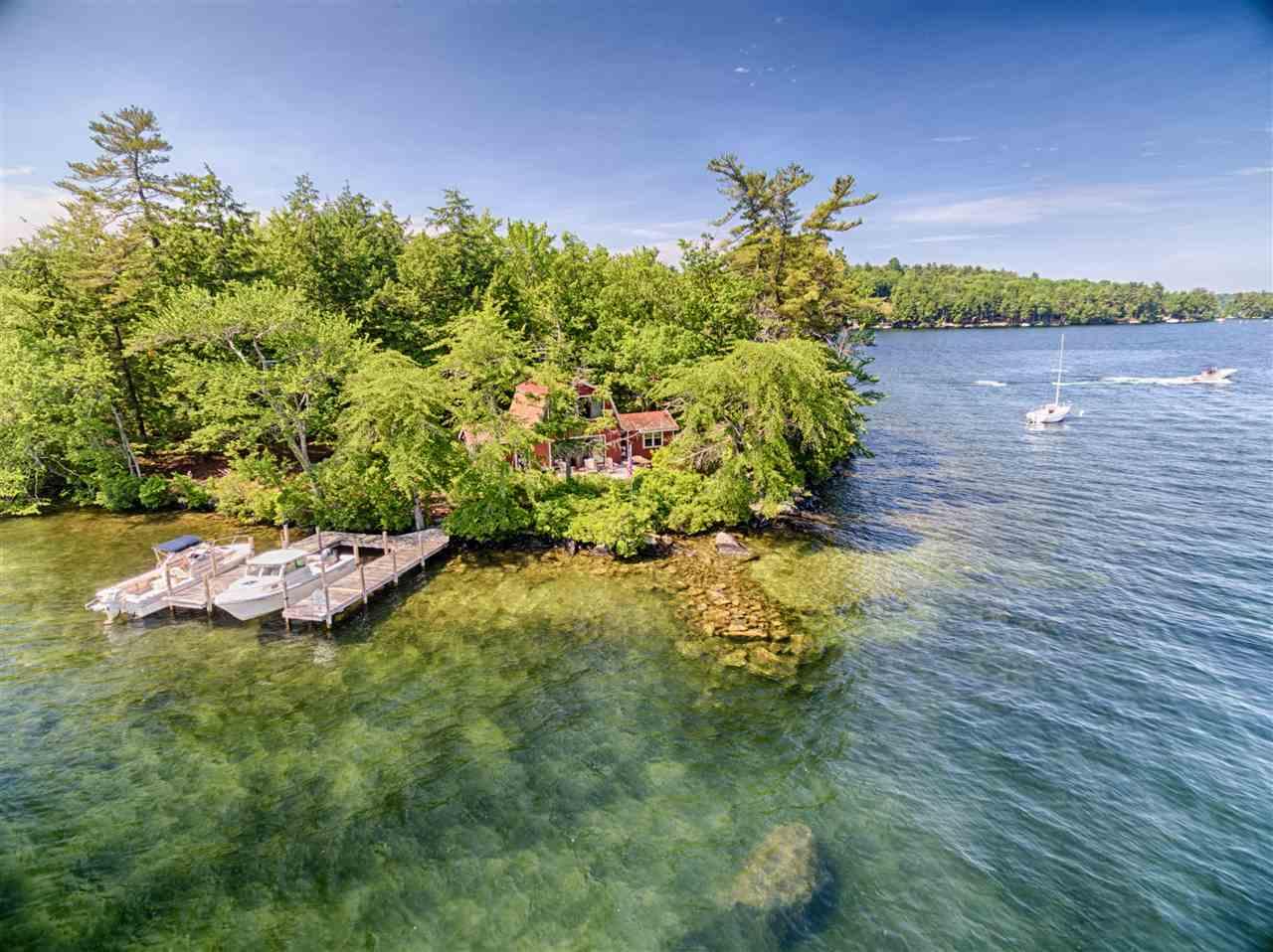 Lake Winnipesaukee waterfront home for sale in Tuftonboro