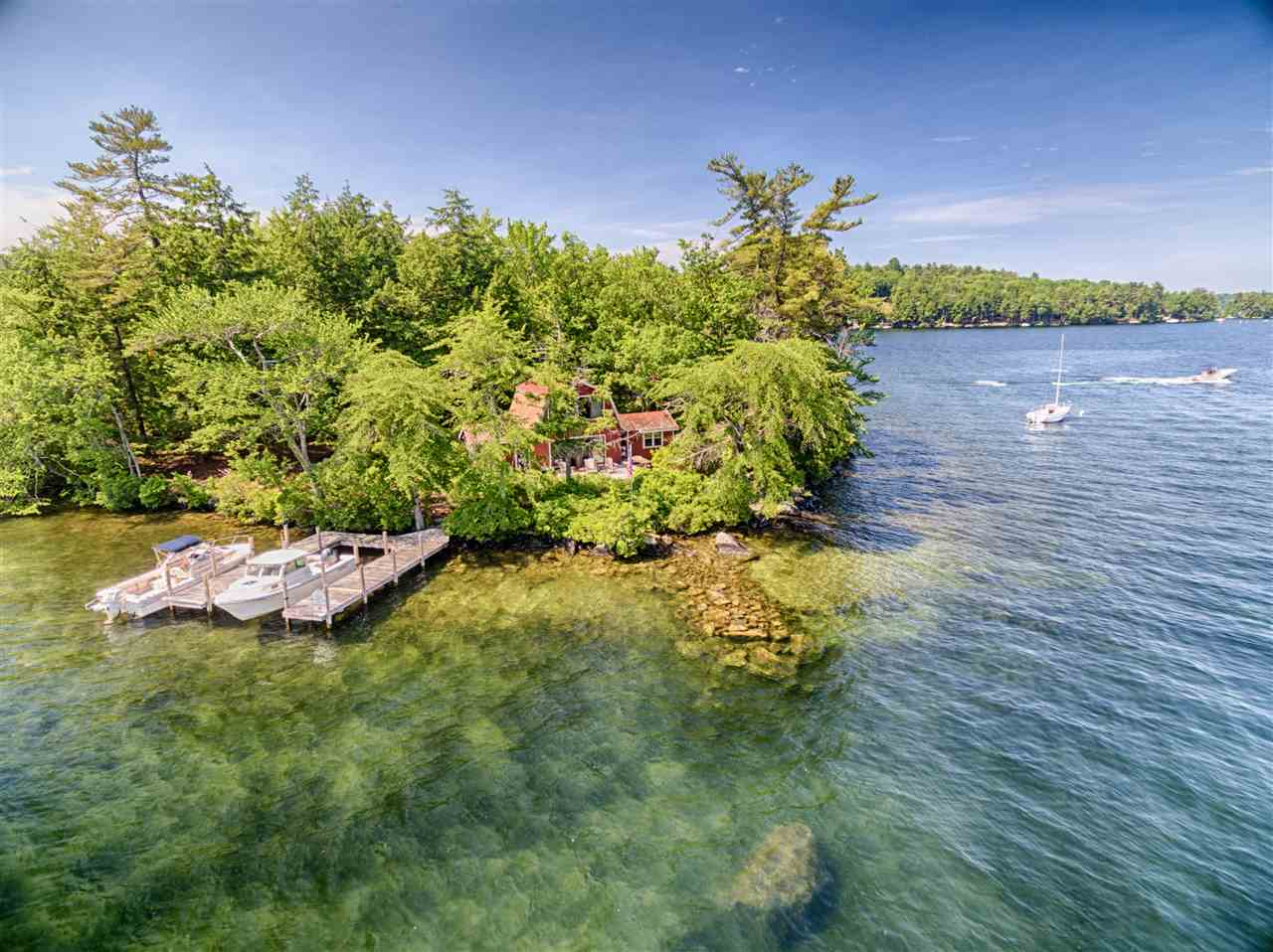 MLS 4702497: 1 Cow Island, Tuftonboro NH