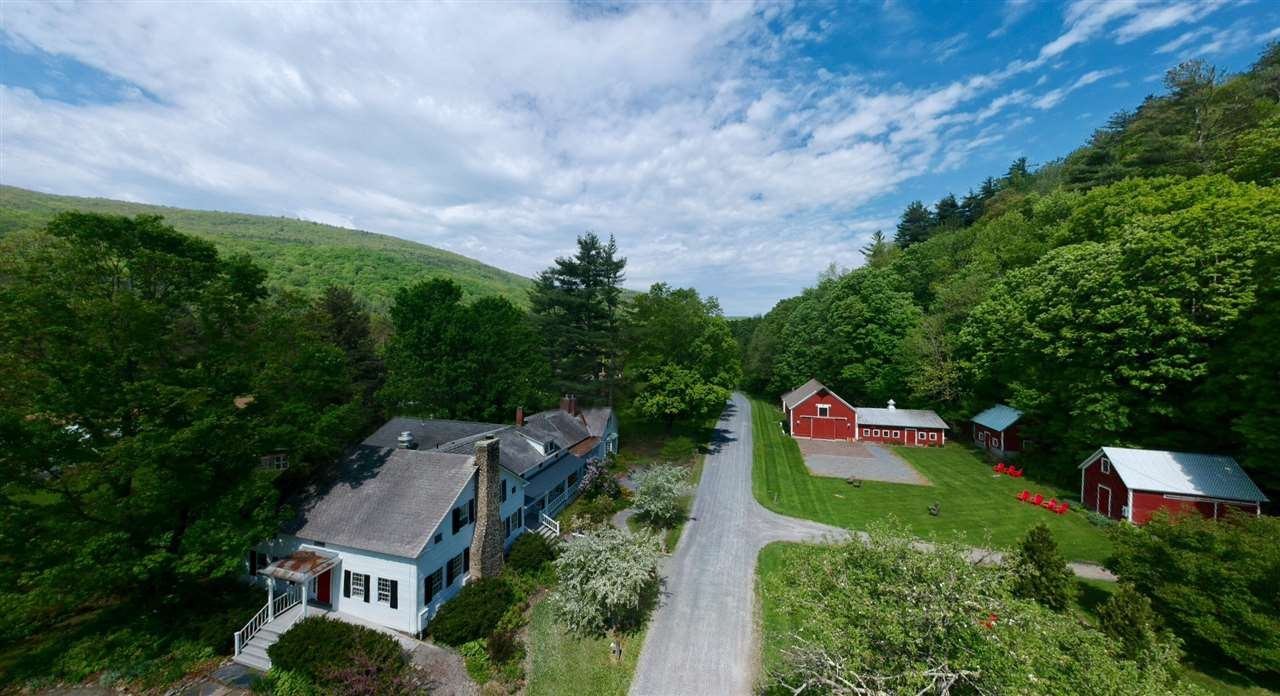 Nestled amongst the Green Mountains, with the beautiful Baldwin Creek meandering through, this beautiful 10+ acre property is situated conveniently between Middlebury and Burlington. Operated as a successful inn, restaurant, and wedding venue for the past 35 years, the time has come for some new energy to take this property into it's next chapter. Property Highlights: 5,849 sf inn building with dining area, commercial kitchen, & 5 guest rooms; Grand post and beam wedding space; Separate home: 1,838 sf, 2 bedroom, 1 bathroom; Separate Vineyard; 4 barns & 3 greenhouses.